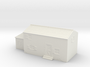 Italian style house 1/200 in White Natural Versatile Plastic