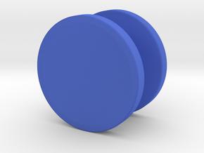 Spinner Caps (Pair) in Blue Processed Versatile Plastic