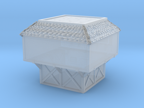 Glacier House Style Two  in Smooth Fine Detail Plastic