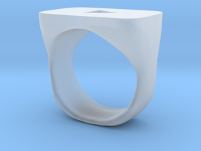YouTube Ring in Smooth Fine Detail Plastic