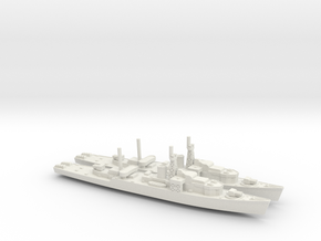 Loch Class x2 1/1800 in White Natural Versatile Plastic