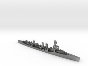 ORP Conrad formally HMS Danae 1:1800 WW2 cruiser in Natural Silver