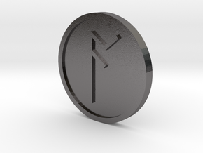 Ac Coin (Anglo Saxon) in Polished Nickel Steel