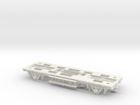 GWR Tadpole A Diag. S5, Part 1 Chassis in White Natural Versatile Plastic