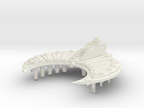 Nave Sepulcro clase Piramide A  in White Natural Versatile Plastic