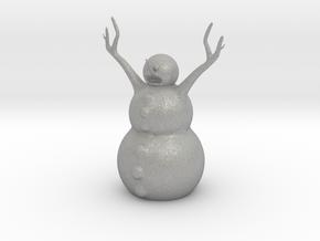 Snow Man in Aluminum