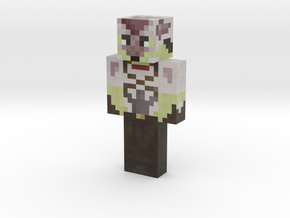 SirZeros | Minecraft toy in Natural Full Color Sandstone