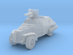 Marmon Herrington mk2 (47mm gun) 1/220 in Smooth Fine Detail Plastic