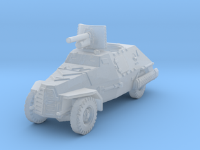 Marmon Herrington mk2 (47mm gun) 1/285 in Smooth Fine Detail Plastic