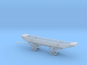 N PONTOON WAGON in Smooth Fine Detail Plastic