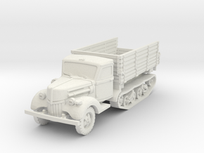 Ford V3000 Maultier early 1/72 in White Natural Versatile Plastic