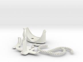 360 Viewer in White Natural Versatile Plastic