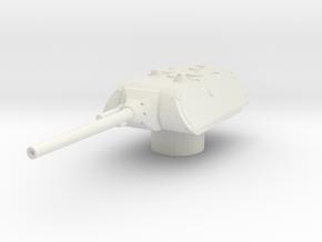 Maus turret 1/35 in White Natural Versatile Plastic