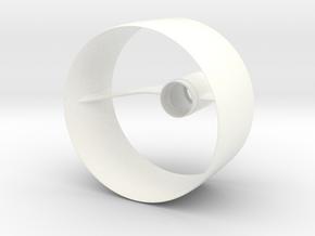 Custom Ring Fin Unit for BT-50-18MM motors in White Processed Versatile Plastic