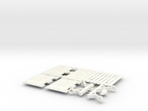 ELEPHANT CASTLE 5.2 in White Processed Versatile Plastic