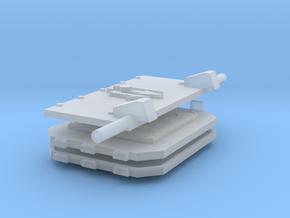 Skull on spear God-Hammer tank set #3 in Smooth Fine Detail Plastic