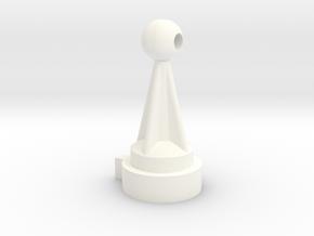 1/1000 Planetary Sensor Array/Delfector Mod reimag in White Processed Versatile Plastic