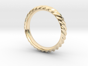 Cresta Nº3 Ring - Size 6 in 14K Yellow Gold