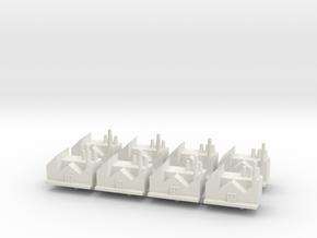 Research Center x8 in White Natural Versatile Plastic
