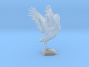 Pelican Model in Smooth Fine Detail Plastic