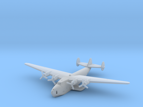 Boeing B-314 Clipper Waterline Model in Smooth Fine Detail Plastic: 1:700