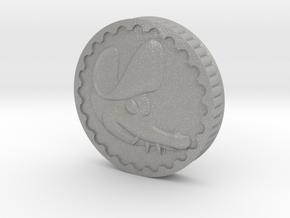 Crocodile Dubloon (B) in Aluminum
