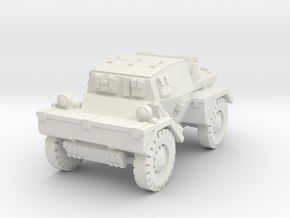 Daimler Dingo mk1 (closed) 1/76 in White Natural Versatile Plastic
