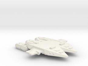 3788 Scale Orion Double Raider Cruiser CVN in White Natural Versatile Plastic