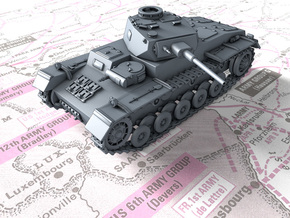 1/72 German VK 65.01 (H) Heavy Tank in Smooth Fine Detail Plastic