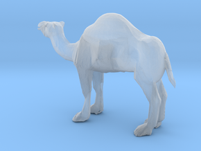HO Scale Camel in Smooth Fine Detail Plastic