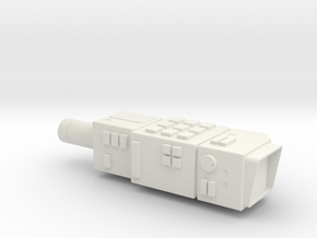 Space 1999 Commlock All In One Piece Version  in White Natural Versatile Plastic