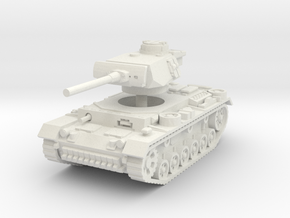 Panzer III L 1/32 in White Natural Versatile Plastic