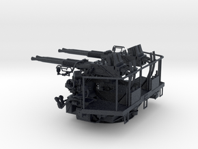 1/32 40mm Bofors Quad mount in Black PA12