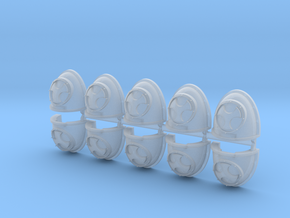 Destroyers Mk4 pads x10 #2 in Smooth Fine Detail Plastic