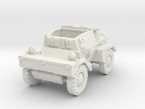Daimler Dingo mk1 (open) 1/72 in White Natural Versatile Plastic