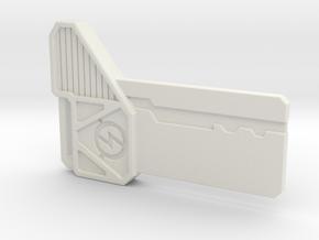 Resident Evil Power Room Key in White Natural Versatile Plastic