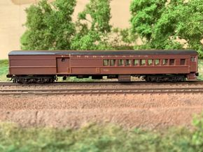 N-scale (1/160) PRR PB70D Combine in Smooth Fine Detail Plastic