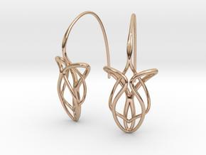 Grace earring pair in 14k Rose Gold