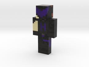 AquaphobicKraken | Minecraft toy in Natural Full Color Sandstone