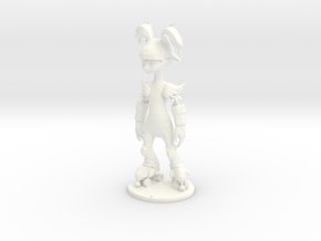 Poptart-SkaterGirl-Final in White Processed Versatile Plastic