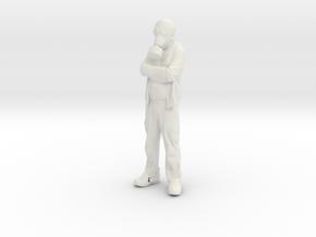 Printle V Homme 604 - 1/32 - wob in White Natural Versatile Plastic