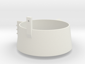 1/50 Starbord Kort Nozzle Smit Rotterdam/London  in White Natural Versatile Plastic