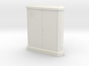 1/60 sub distributor PTT / sous répartiteur PTT in White Natural Versatile Plastic