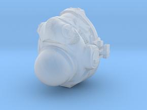 Titanfall stye helmet tabletop scale in Smoothest Fine Detail Plastic