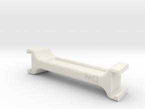 [Nintendo Switch] Joy Con Bridge in White Natural Versatile Plastic: Small