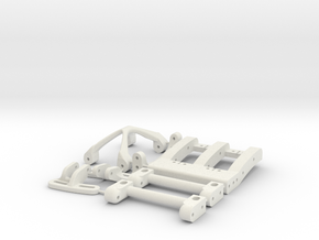 HiLow  10.2 Brace Parts Tree in White Natural Versatile Plastic