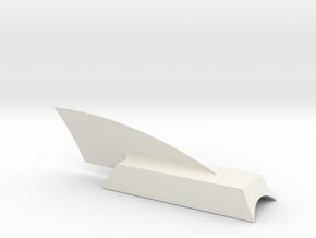 Dragonship 7 Canopyw-dorsal BT-60 in White Natural Versatile Plastic