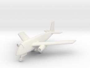 (1:144) Focke-Wulf Fw 1000x1000x1000 C (Gear down) in White Natural Versatile Plastic