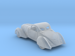 Peugeot 402  1938 1:120 TT in Smooth Fine Detail Plastic