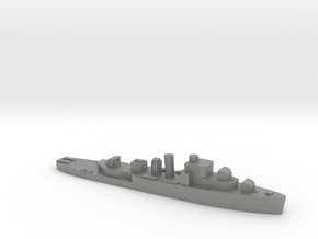 HMS Bittern 1:3000 WW2 sloop in Gray PA12